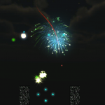 FireWorks - created with Unity