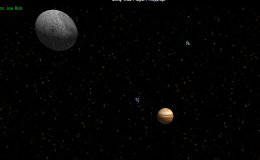 Networked Space Wars: My May One Game A Month is Online #1GAM