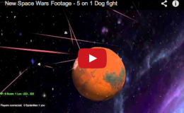 Space Wars Update – Video with Scores, Sound, Hit Points!