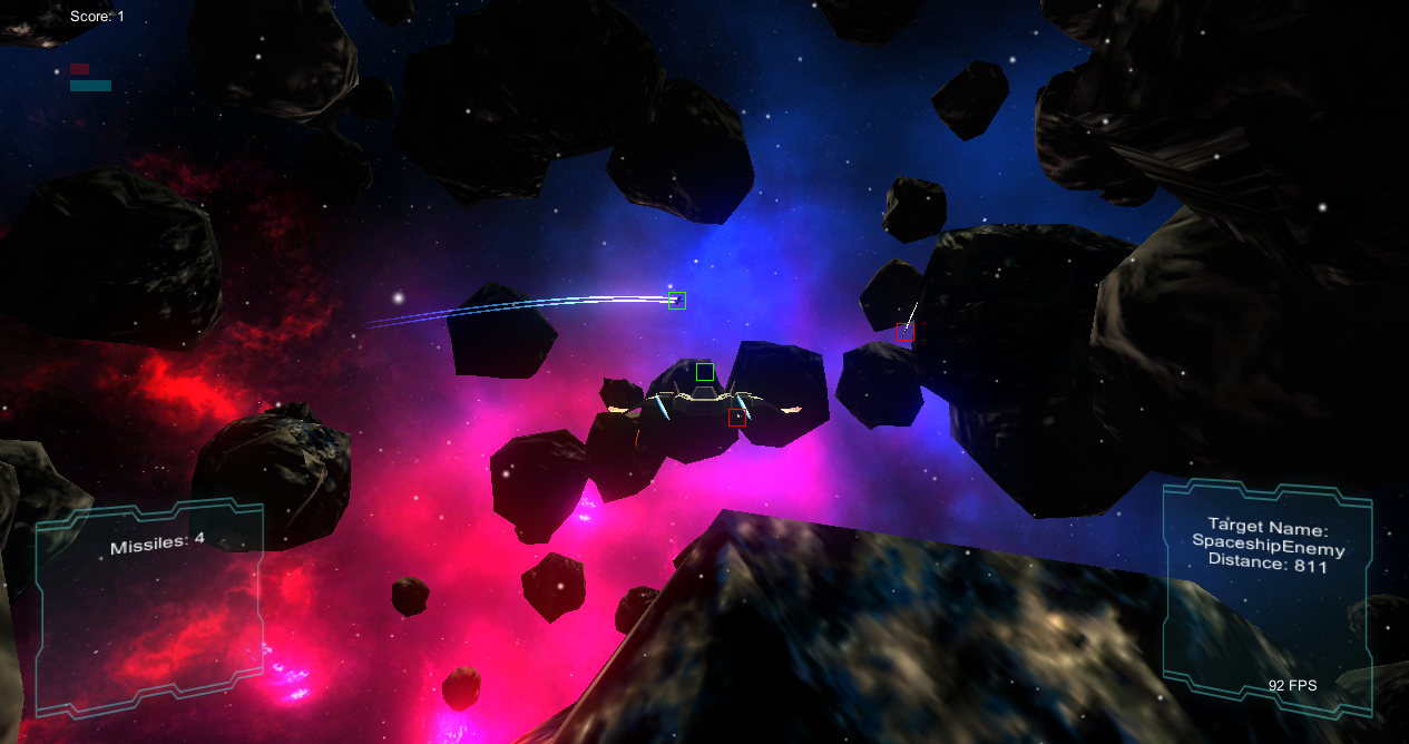 Dev Log: Space Warfare Infinite – Using Unity 4 6 UI for the