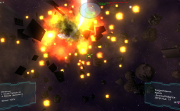 Space Warfare: Infinite – Dev Log – Modeling ships, Base classes and Explosion Debris