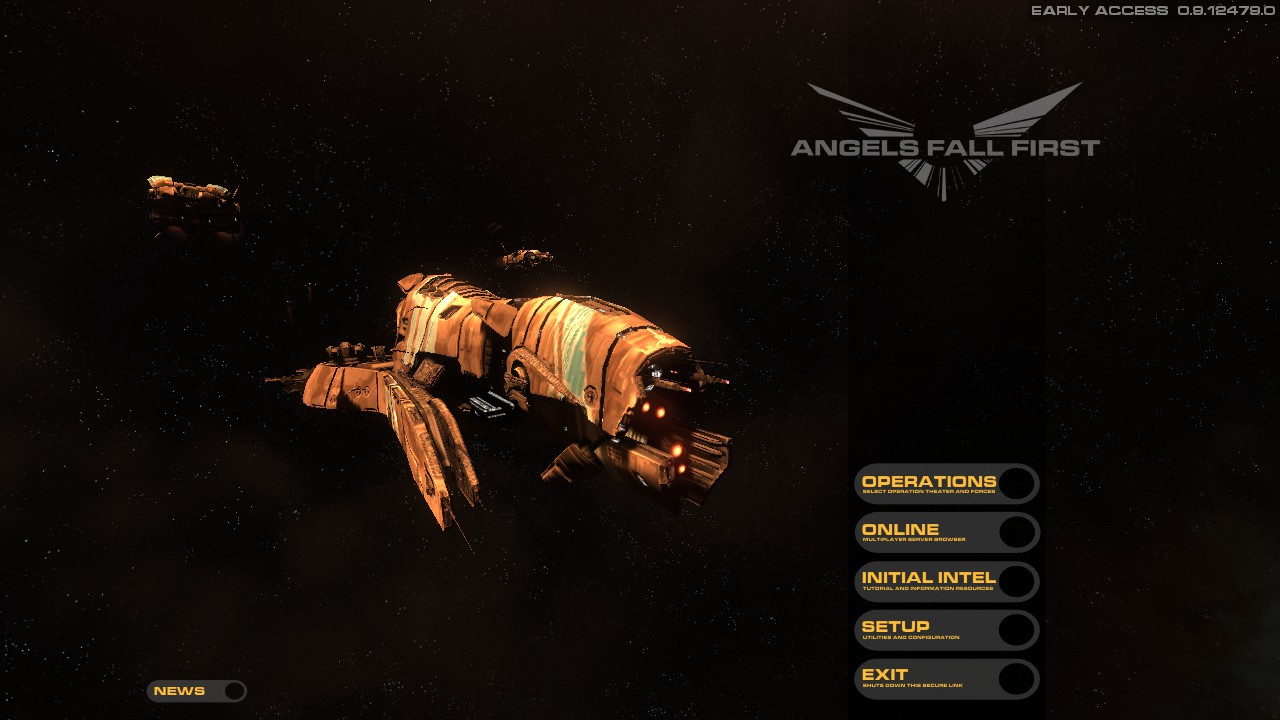 New Let's Play Video – Space Warfare: Infinite Plays Angels Fall First